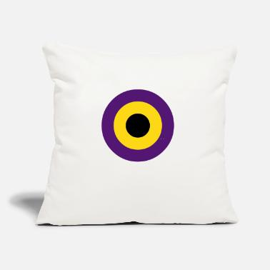 "Graffiti circles - Throw Pillow Cover 18"" x 18"""