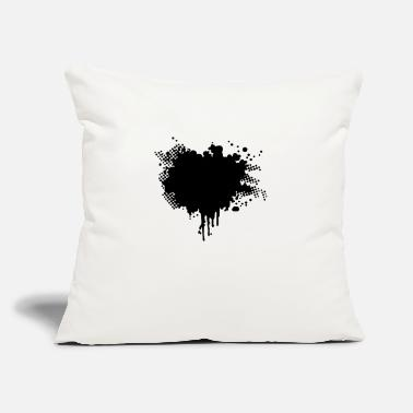 "Splatter splatter - Throw Pillow Cover 18"" x 18"""