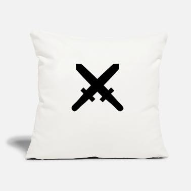 "Sword swords - Throw Pillow Cover 18"" x 18"""