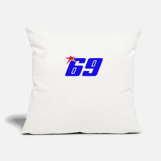 "Hayden Pillow Cases - nicky Hayden RIP - Throw Pillow Cover 18"" x 18"" natural white"
