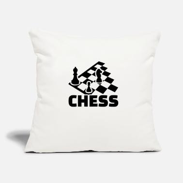 "Chess Board chess boards - Throw Pillow Cover 18"" x 18"""