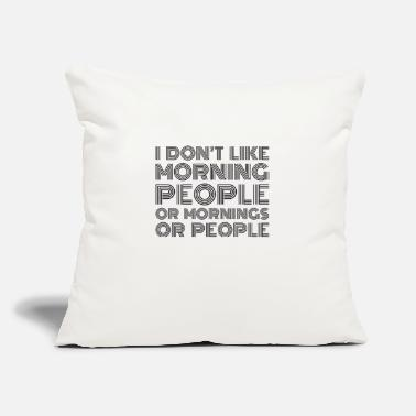 "Monday Morning people - Throw Pillow Cover 18"" x 18"""