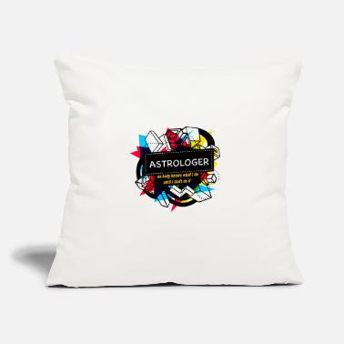 "Astrology ASTROLOGER - Throw Pillow Cover 18"" x 18"""