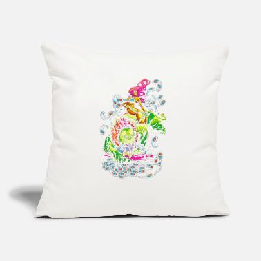 "Sour SOUR PUSS - Throw Pillow Cover 18"" x 18"""