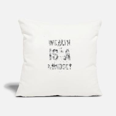 Wealth Wealth is a mindset - Throw Pillow Cover