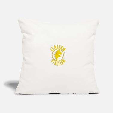 "Stallion Italian Stallion - Throw Pillow Cover 18"" x 18"""