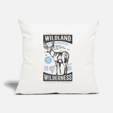 "Camping Lover Road Trip Adventure Wanderlust - Throw Pillow Cover 18"" x 18"""