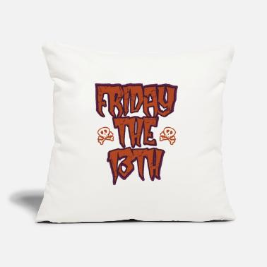 "Friday The 13th Friday the 13th - Throw Pillow Cover 18"" x 18"""