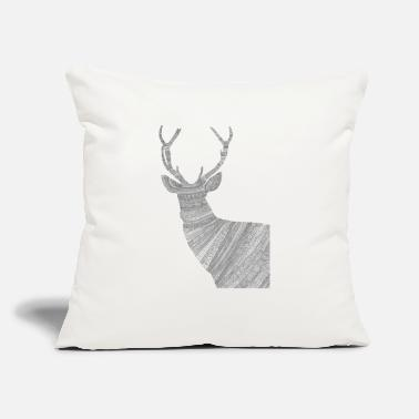 "Alc alce - Throw Pillow Cover 18"" x 18"""