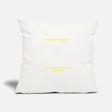 "Pickup Line Runescape agility pickup line - Throw Pillow Cover 18"" x 18"""