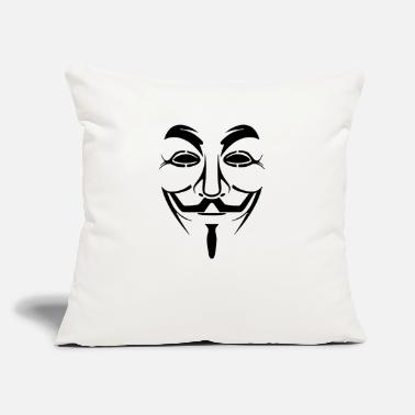 Anonymous Anonymous - Throw Pillow Cover