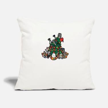 "Celebrate CELEBRATE CELEBRATE - Throw Pillow Cover 18"" x 18"""