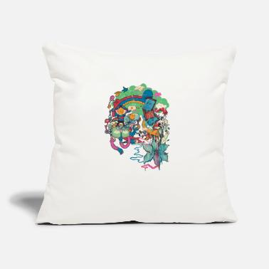 "Crook Crooked Couch - Throw Pillow Cover 18"" x 18"""