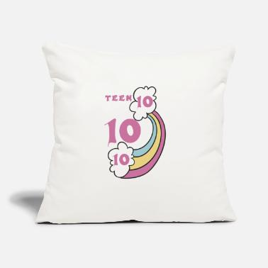 "Teen teen - Throw Pillow Cover 18"" x 18"""