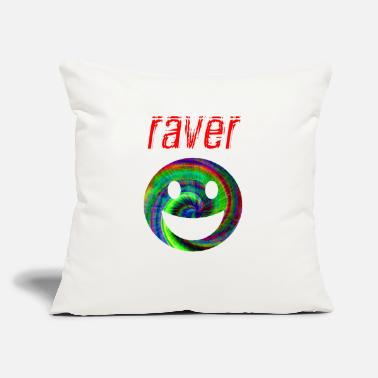 Raver raver - Throw Pillow Cover