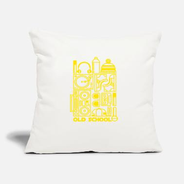 "Dab Old School Street Music - Throw Pillow Cover 18"" x 18"""