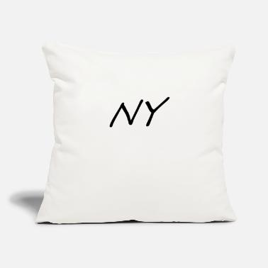 Ny NY - Throw Pillow Cover