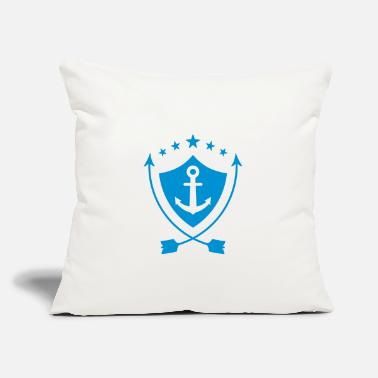"Sailing - Boat - Sailor - Freedom - Throw Pillow Cover 18"" x 18"""