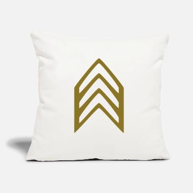 "Insignia Insignia Sergeant - Throw Pillow Cover 18"" x 18"""