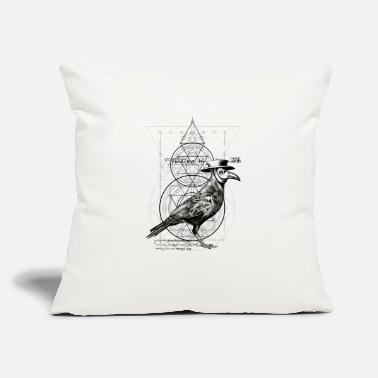 "Mythical Collection The Plague Raven - Throw Pillow Cover 18"" x 18"""