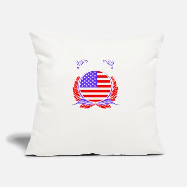 "America This Is America - Throw Pillow Cover 18"" x 18"""