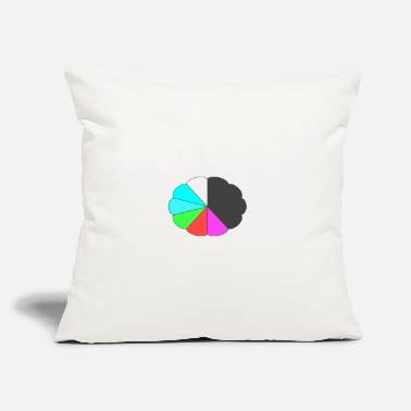 "Color COLOR - Throw Pillow Cover 18"" x 18"""