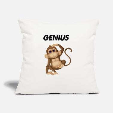 "Genius genius - Throw Pillow Cover 18"" x 18"""