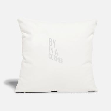 "Corner Kick By in a corner - Throw Pillow Cover 18"" x 18"""