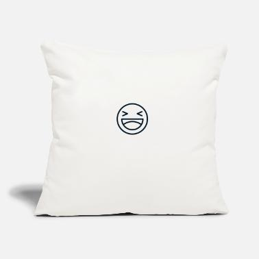 "funny - Throw Pillow Cover 18"" x 18"""