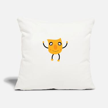 "Excited excited guy - Throw Pillow Cover 18"" x 18"""