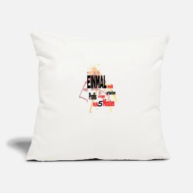 "Professional professionals - Throw Pillow Cover 18"" x 18"""