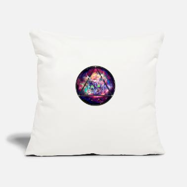 "Space Cat - Throw Pillow Cover 18"" x 18"""