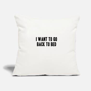 Bed Bed - Throw Pillow Cover