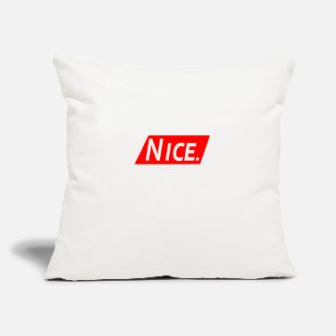 Nice Nice - Throw Pillow Cover