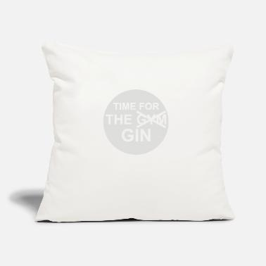 "Rummy Time For The Gin - Throw Pillow Cover 18"" x 18"""