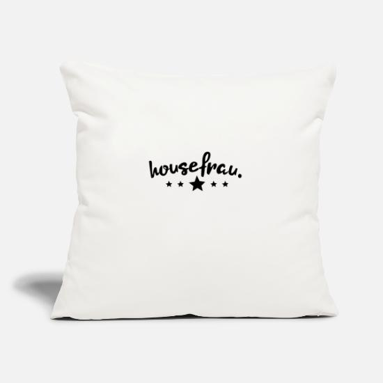 "Hifi Pillow Cases - House Music - Throw Pillow Cover 18"" x 18"" natural white"