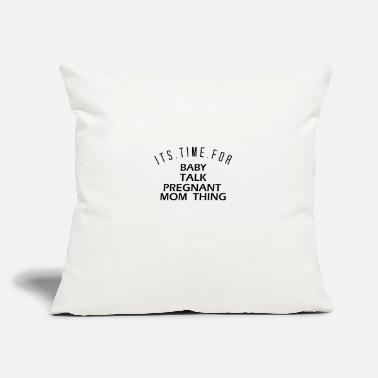 "Baby Time Time for a BABY - Throw Pillow Cover 18"" x 18"""