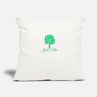 "Just just a tree - Throw Pillow Cover 18"" x 18"""
