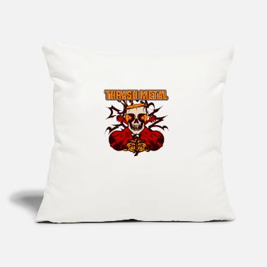 "Thrash Thrash Metal - Throw Pillow Cover 18"" x 18"""