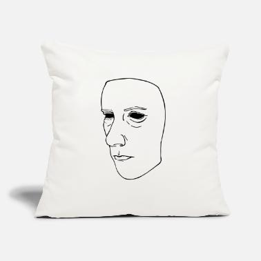 "Mask mask - Throw Pillow Cover 18"" x 18"""