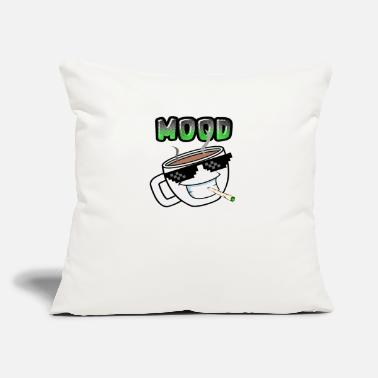 "COFFEE IN THE MOOD - Throw Pillow Cover 18"" x 18"""
