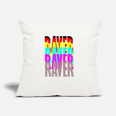 Raver raver raver raver raver - Throw Pillow Cover