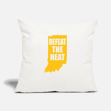 "Heat BEAT THE HEAT - Throw Pillow Cover 18"" x 18"""