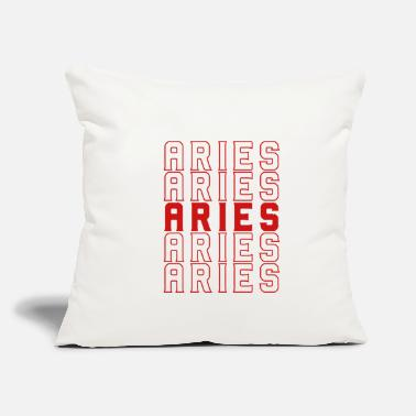 "Aries Aries Aries Aries - Throw Pillow Cover 18"" x 18"""