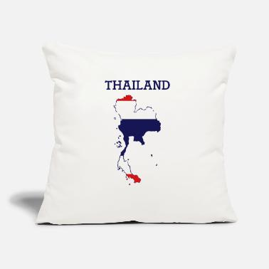 "Thailand thailand - Throw Pillow Cover 18"" x 18"""