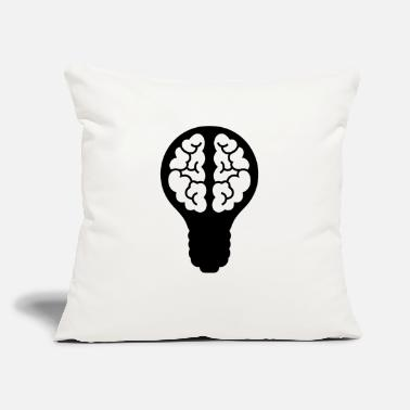 "Light Bulb light bulb - Throw Pillow Cover 18"" x 18"""