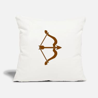 "archery arrow bow crossbow target sports30 - Throw Pillow Cover 18"" x 18"""