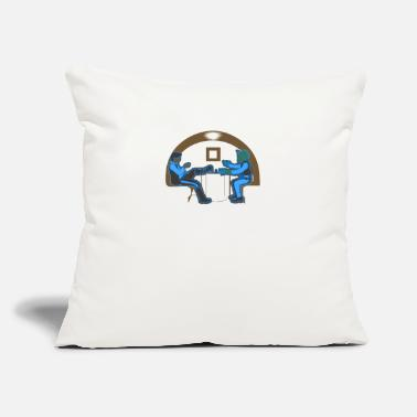 "Shooter Shooters - Throw Pillow Cover 18"" x 18"""