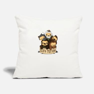"Motion SLOTH MOTION - Throw Pillow Cover 18"" x 18"""