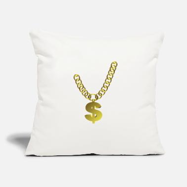 "Jewelry Chain Jewelry - Throw Pillow Cover 18"" x 18"""